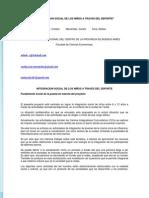 INTEGRACION SOCIAL DE LOS NIÑOS A TRAVES DEL DEPORTE_Arbulu, Menendez, Silva_UNICEN