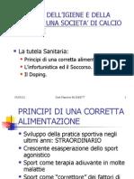 Principi Di Nutrizione Nello Sport