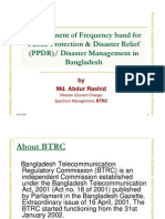 3) Bangladesh Telecom Regulatory Commission [BTRC]