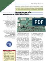 2007ep10 Pc 101 Zestaw Uruchom Msp430f449