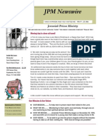 JPM December 2011 Newsletter