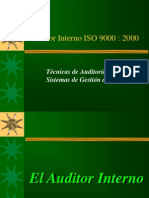Auditor Interno ISO 9000