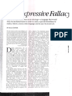 HAL-FOSTER the Expressive Fallacy