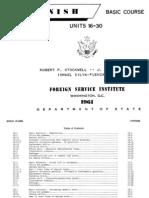 FSI - Spanish Basic Course - Volume 2 - Student Text