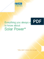 Everything About Solar Power