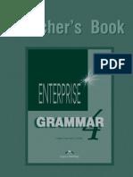 Enterprise Grammar 4 Teacher's Book