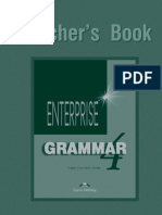Enterprise Grammar 4 Teacher's Book