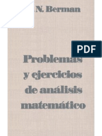 57610830 Problemas y Ejercicios de Analisis Matematico g n Berman