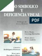 Juego Simbolico Deficiencia Visual