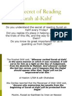 The Secret of Reading Surah Al-Kahf