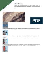 Cómo reparar un hormigón degradado