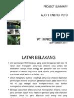 Audit Energi - PLTU