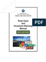 DPWH Road Signs and Pavement Markings May 2011 Complete