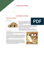 1.2 Historia de La Vivienda