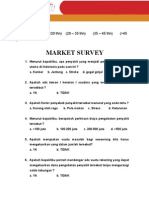 Market Survey Two in One