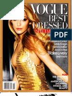 Vogue Best Dressed 2010 Merged
