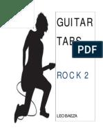 Guitar Tabs (Rock 2) Leo Baeza