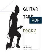 Guitar Tabs (Rock 3) Leo Baeza