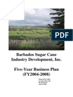 Barbados Sugarcane Executive Summary