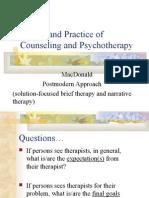 Post Modern counseling