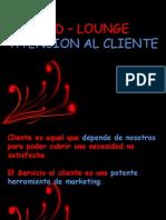 Red Lounge - Atencion Al Cliente
