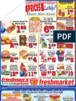 Friedman's Freshmarkets - Weekly Ad - Thursday, December 29, 2011 - Wednesday, January 4, 2012