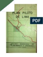 ONPU Plan Piloto de Lima 1949