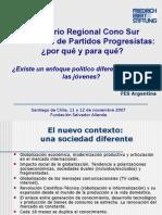 Participacin Juvenil y Juventudes Progresistas - Chile