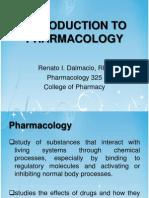 Prelims - Intro to Pharmacology