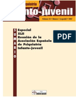Revista de Psiquiatria Infantojuvenil 2007