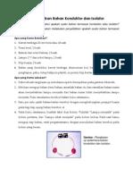 Penyelidikan Bahan Konduktor Dan Isolator
