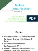 Mobile Communication #1