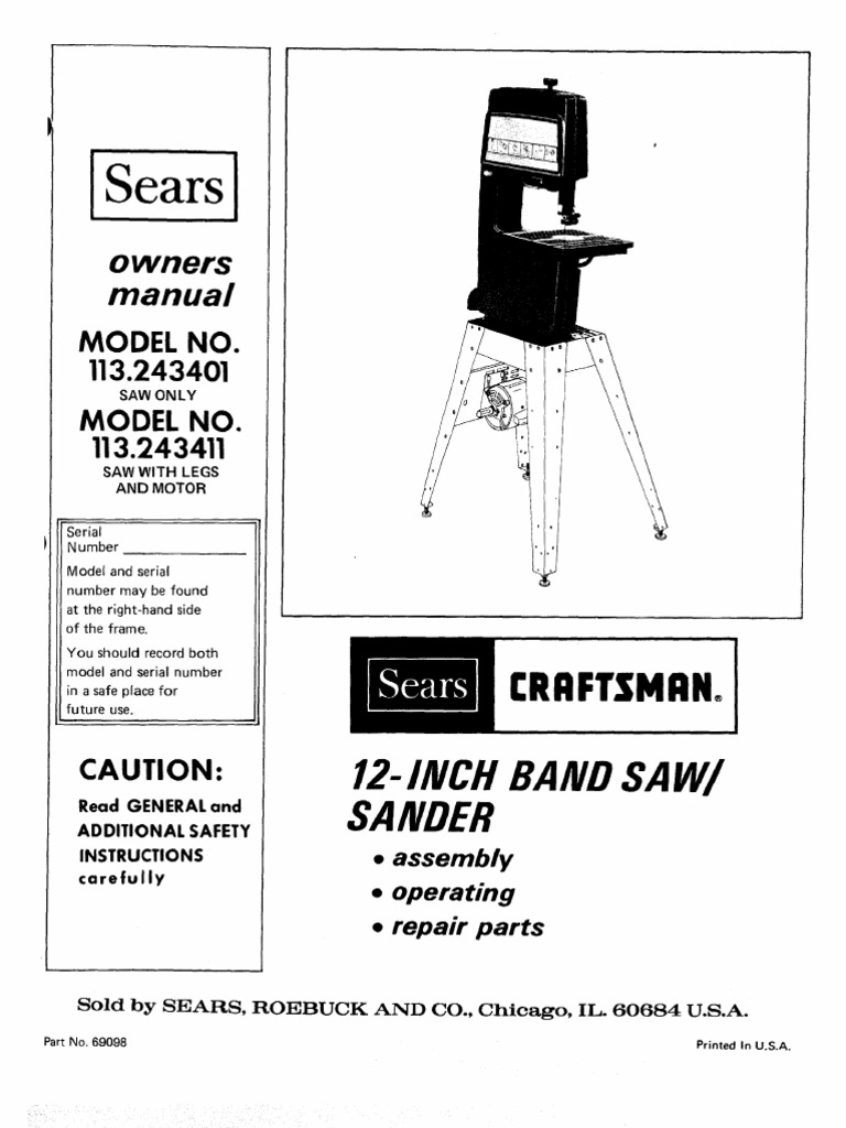 Craftsman Band Saw Wiring Diagram Data Basic Lawn Tractor General 18 For You Riding Mower Diagrams