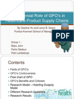 Controversial Role of GPOs in Healthcare-Product Supply Chains r2