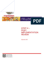 Post Implementation Performance Review