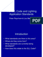 2009 Code & Application Standards