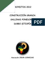 Proyecto Construcción de Gallinero 2012