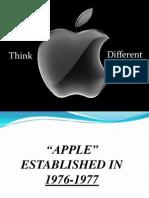 Power Point Presentation on Apple Company