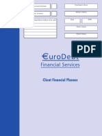 EuroDebt Client Financial Planner