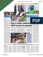 Avvenire - Reportage dal Togo, di Paolo M. Alfieri, 27/12/2011