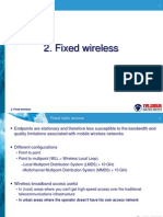 2. Fixed Wireless