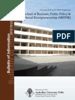 AUD MBA Bulletin 2012 Short