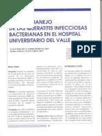 manejo de las keratitis infecciosas