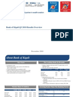 Bank of Kigali 2010 9M 2010 Results Update