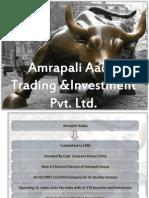 Amrapali Aadya Presentation