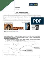 Ficha  de análisis de los cuentos