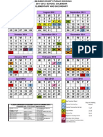School Calendat 2011-2012
