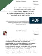 NORMAS GENERALES Y NORMAS ESPECÍFICAS DE SALUD - Francisco Walker E.