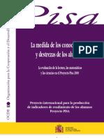 PISA 2000 Version Espanol