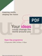 Ug Open Day Brochure